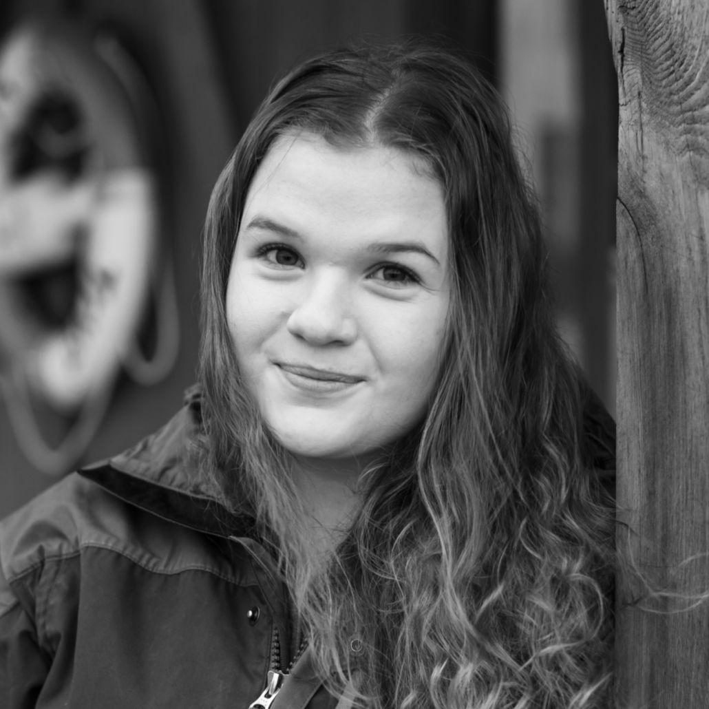 Kristin Leirvåg, lærling i Media Grafiker faget hos A til Å